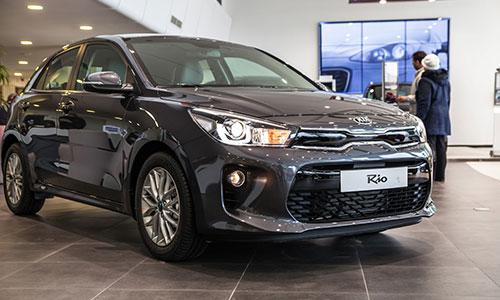 Nouvelle KIA Rio 5 portes chez City Cars