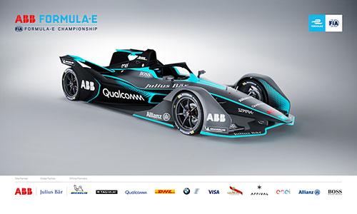 Nouvelle monoplace pour la Formule E