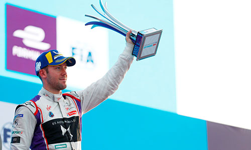 Formula E, Podium pour Sam Bird à Marrakech
