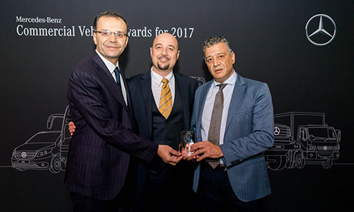 Le Moteur-ICAR remporte le prix Daimler Buses Award
