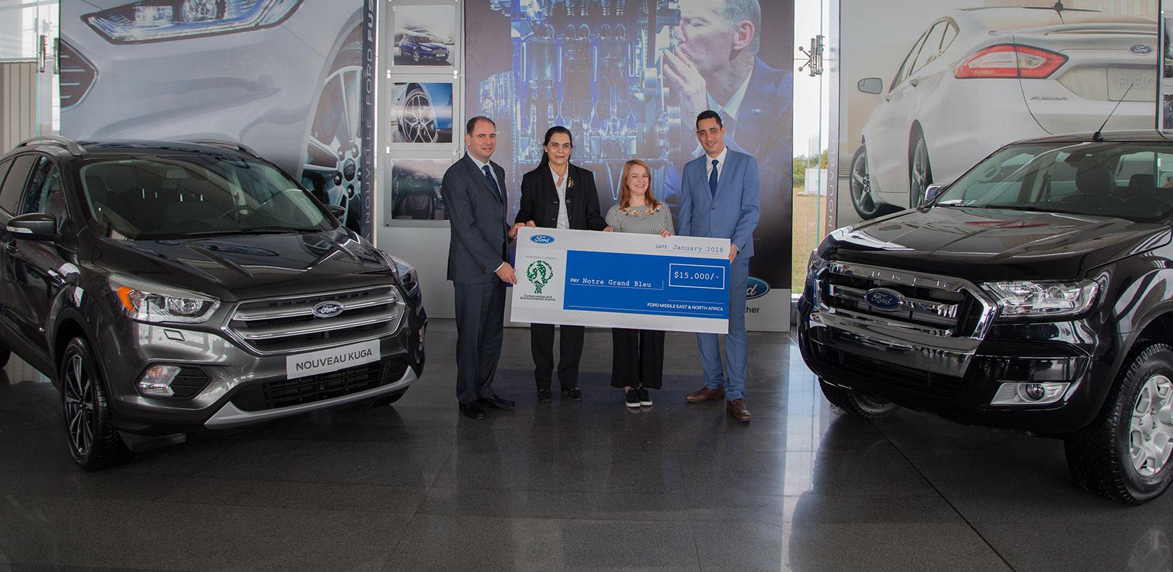 Ford Motor Company accorde un prix de 15,000 dollars à un projet environnemental en Tunisie