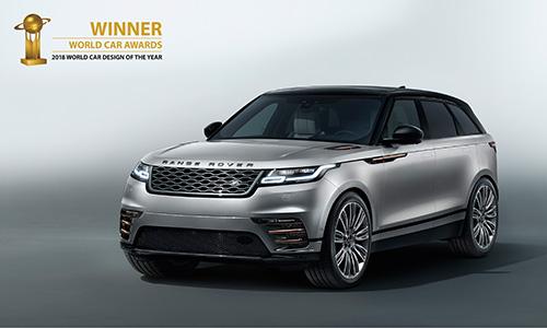 Range Rover Velar élue plus belle voiture du monde