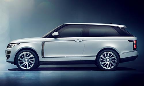 Salon de Genève: Range Rover CV Coupé
