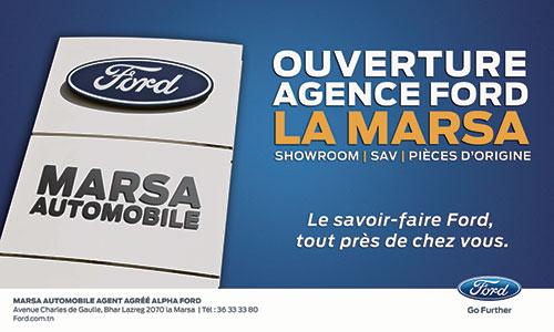 Alpha Ford Inaugure une nouvelle concession à La Marsa