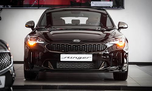 La KIA Stinger exposée chez City Cars
