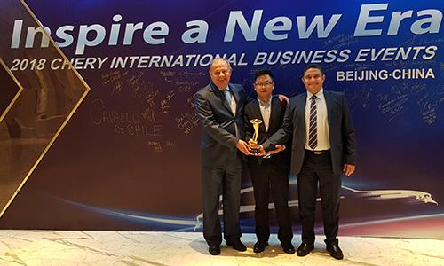 La STA élue meilleur concessionnaire par Chery International
