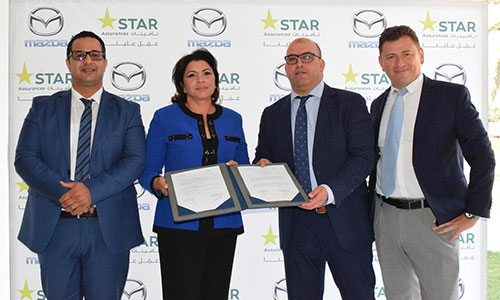 Mazda Tunisie signe un partenariat avec STAR