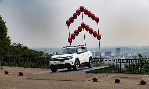 Citroën présente son SUV C5 Aircross à Paris