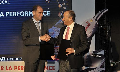 Nouveau partenariat entre Vivo Energy Tunisie et Alpha Hyundai Motor