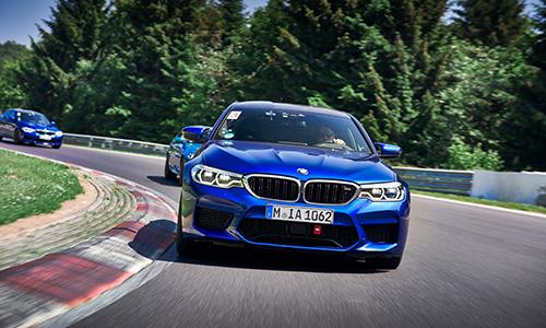 Essai BMW M5 et Mini JCW sur le Nurburgring