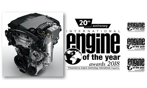 Le 3 cylindres PureTech PSA élu moteur de l'année