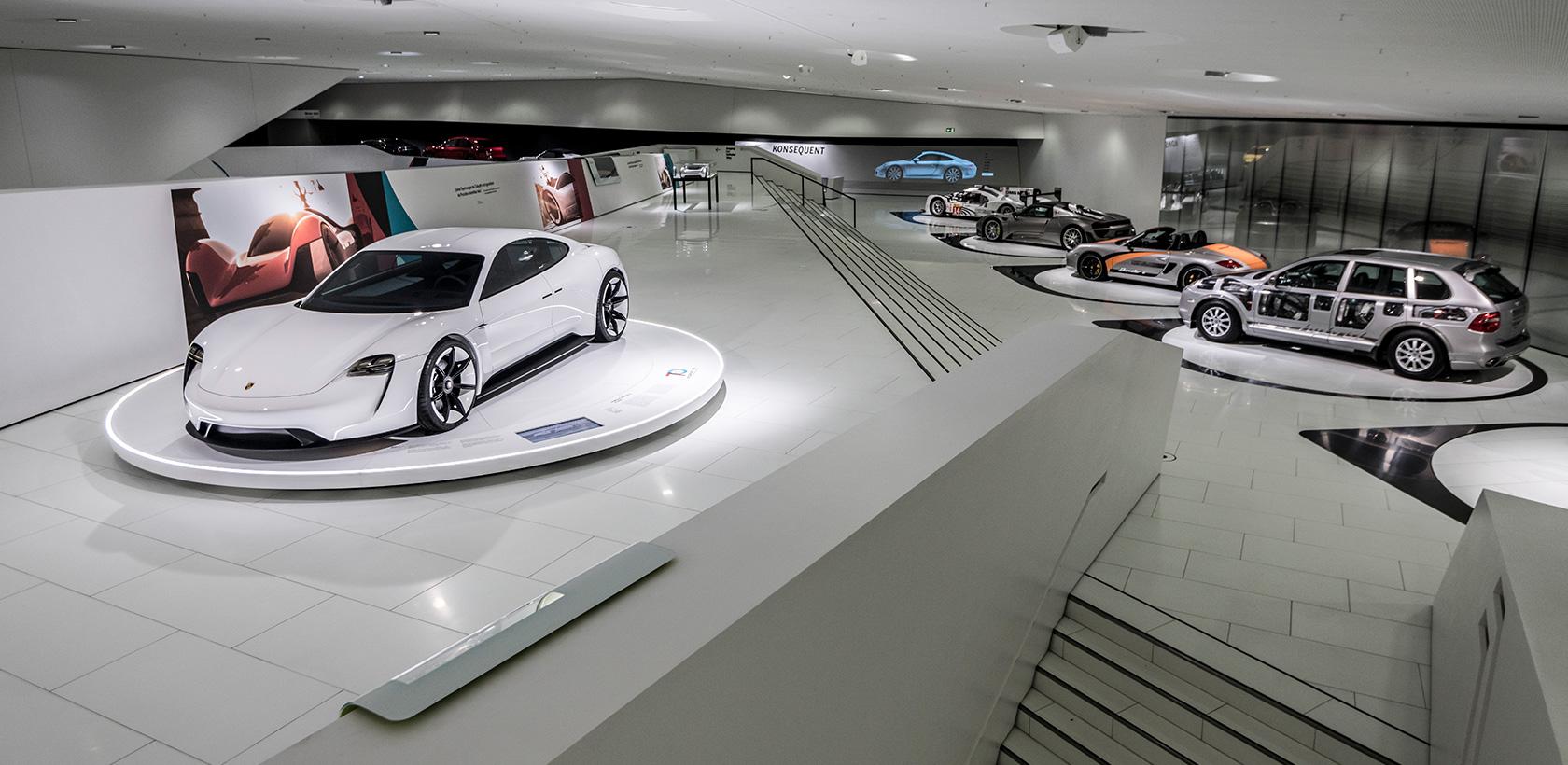 Le musée Porsche fête les 70 ans de la marque