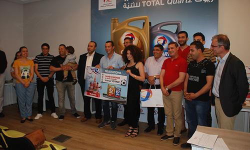 Total Tunisie récompense les gagnants de sa campagne lubrifiant