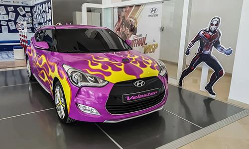 Alpha Hyundai Motor au cœur de l'univers Marvel