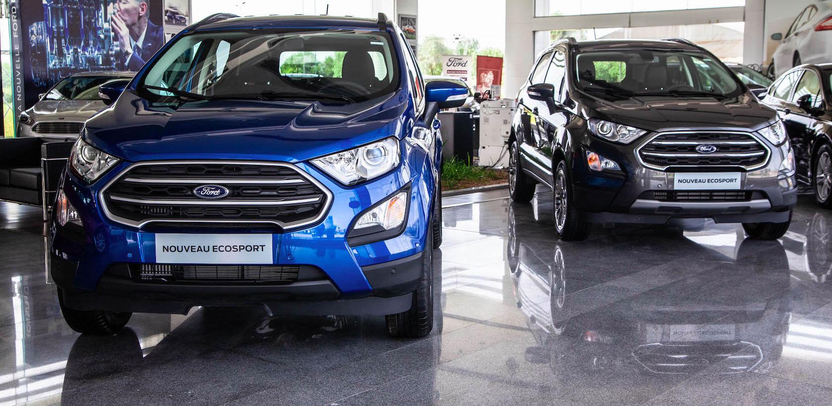 Nouveau Ford Ecosport chez Alpha Ford