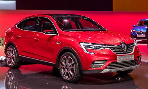 Le SUV coupé Renault ARKANA dévoilé à Moscou