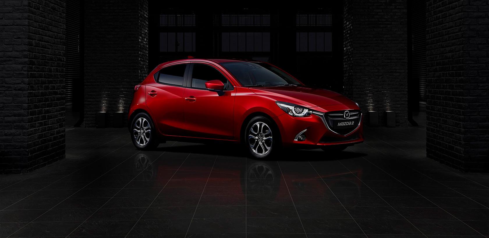 Nouvelles finitions sur la Mazda2 2018