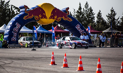 Red Bull Car Park Drift 2018