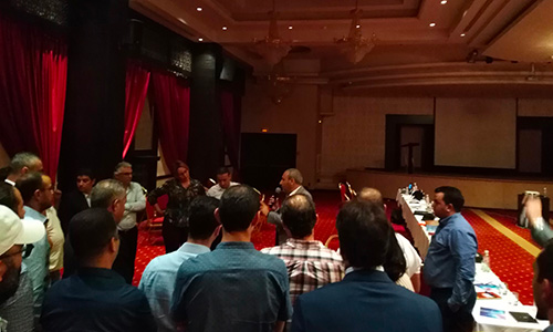 Italcar organise sa convention réseau