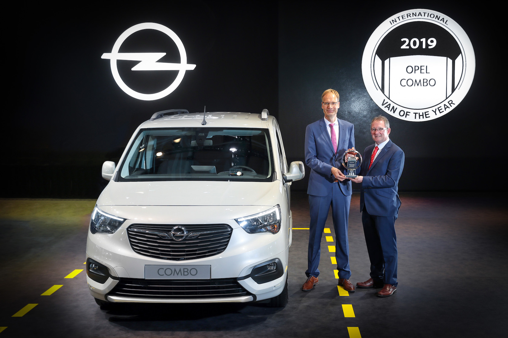 Le nouvel Opel Combo élu International Van of the Year