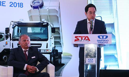 STA importateur officiel Daewoo Trucks