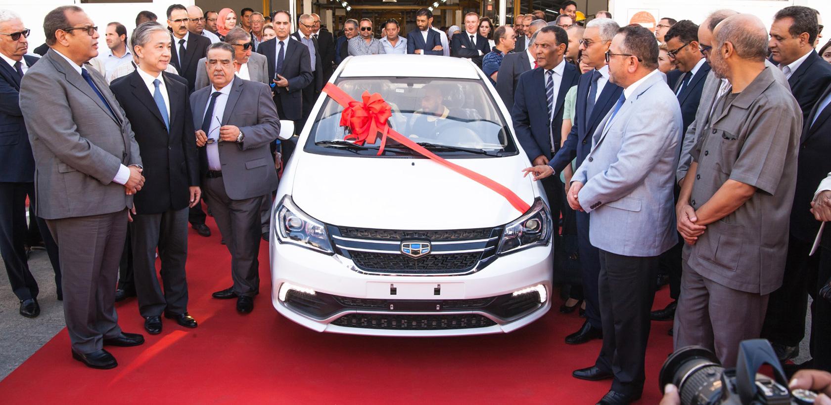 Medicars inaugure une chaine d'assemblage de voitures particulières de la marque Geely en Tunisie