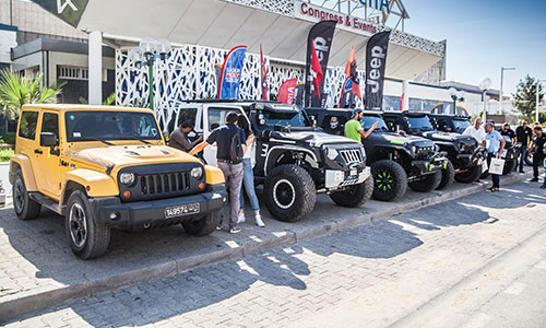 Le plus grand rassemblement de Jeep en Tunisie - Tunisia Jeepers
