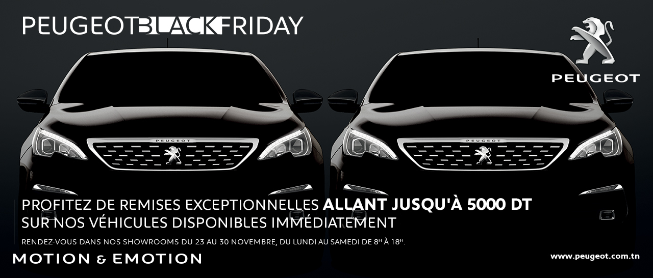 Black Friday chez STAFIM !