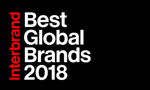 Classment Interbrand 2018