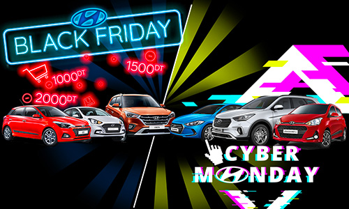 Hyundai Black Friday & Cyber Monday