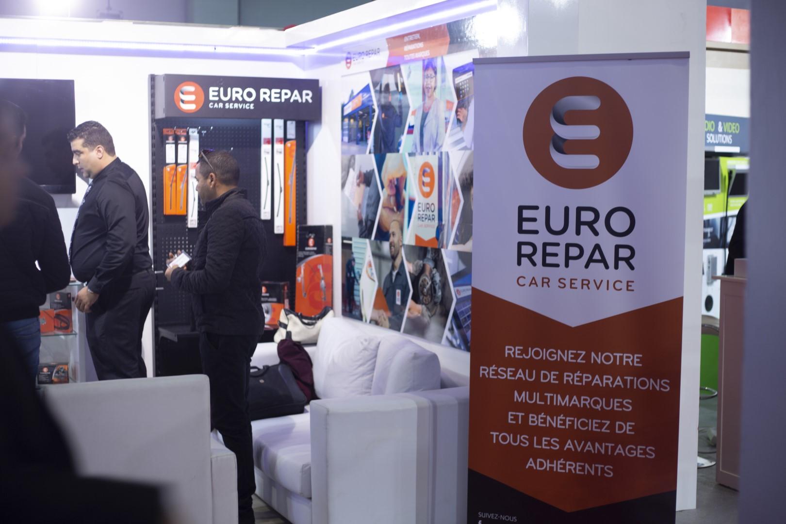 Euro Repar au salon Tunisia Automotive