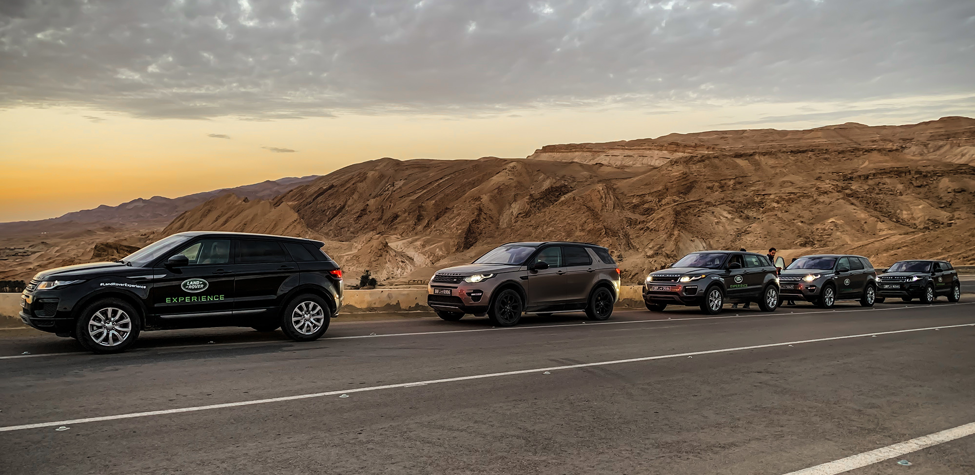 Jaguar Land Rover Experience au Sud Tunisien