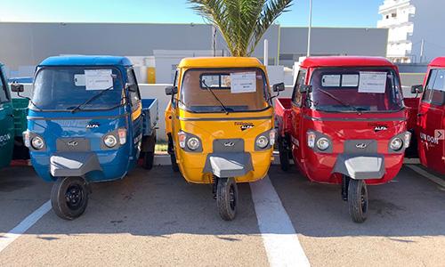 Le groupe Zouari fait don de 50 tricycles