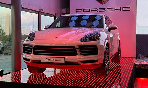 Porsche présente le nouveau Cayenne en Tunisie