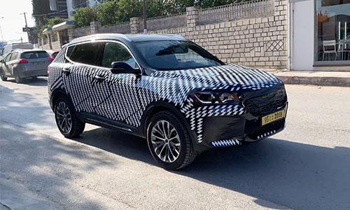 Un SUV camouflé à Tunis