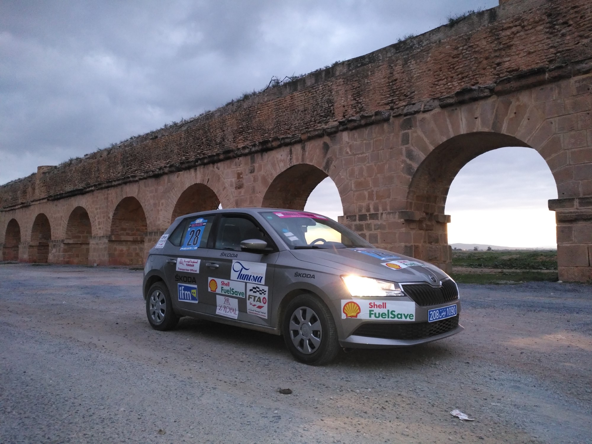 La Skoda Fabia fait ses preuves sur le Rallye Allyssa 2019