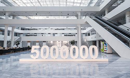 Haval fête 5 millions d'unités vendues dans le monde