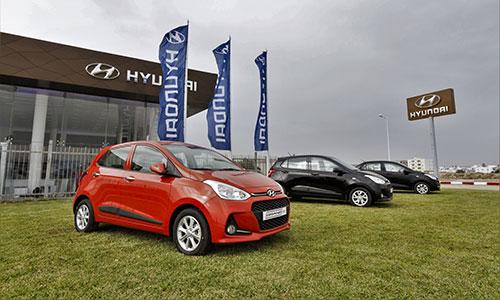 Hyundai en tête des ventes de véhicules particuliers en Janvier