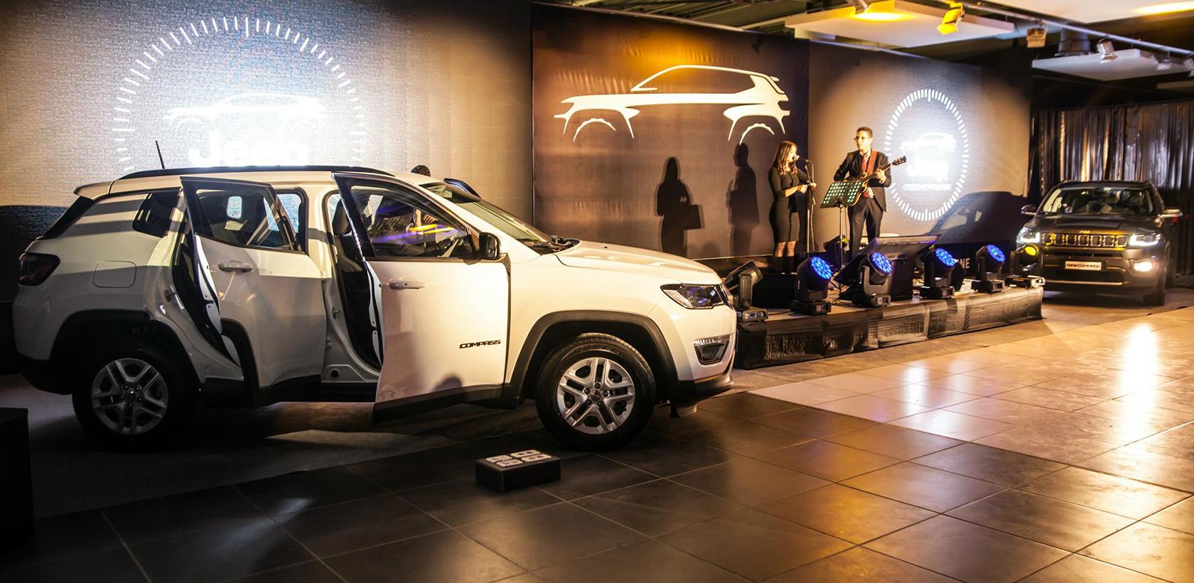 Nouvelle Jeep Compass chez ITALCAR