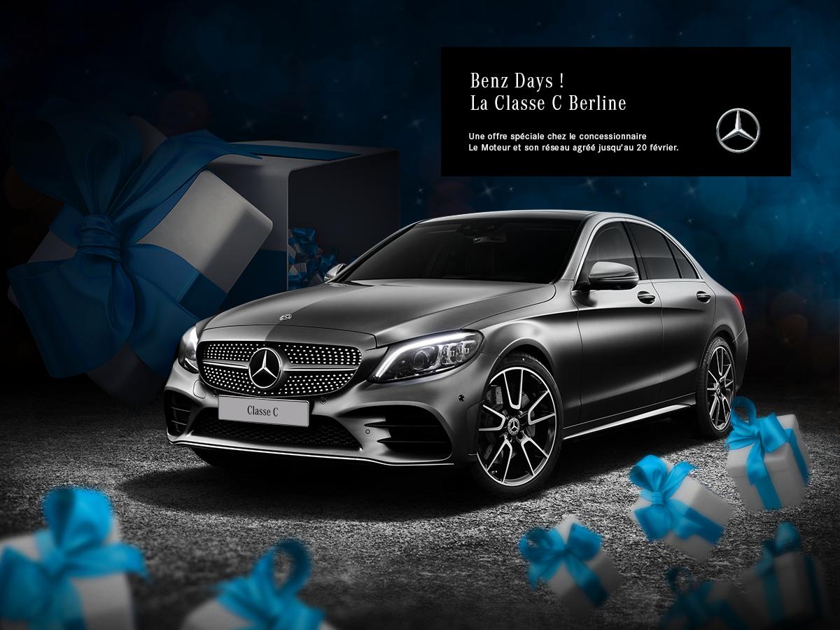 Offre spéciale Benz Days sur la Classe C