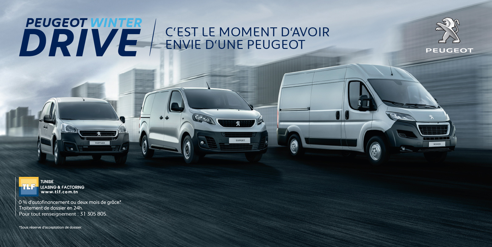 Peugeot Winter Drive chez STAFIM