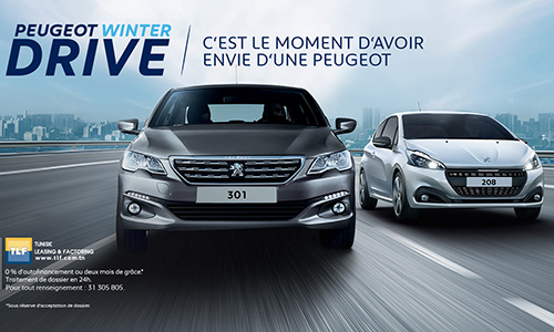 Peugeot Winter Drive chez STAFIM