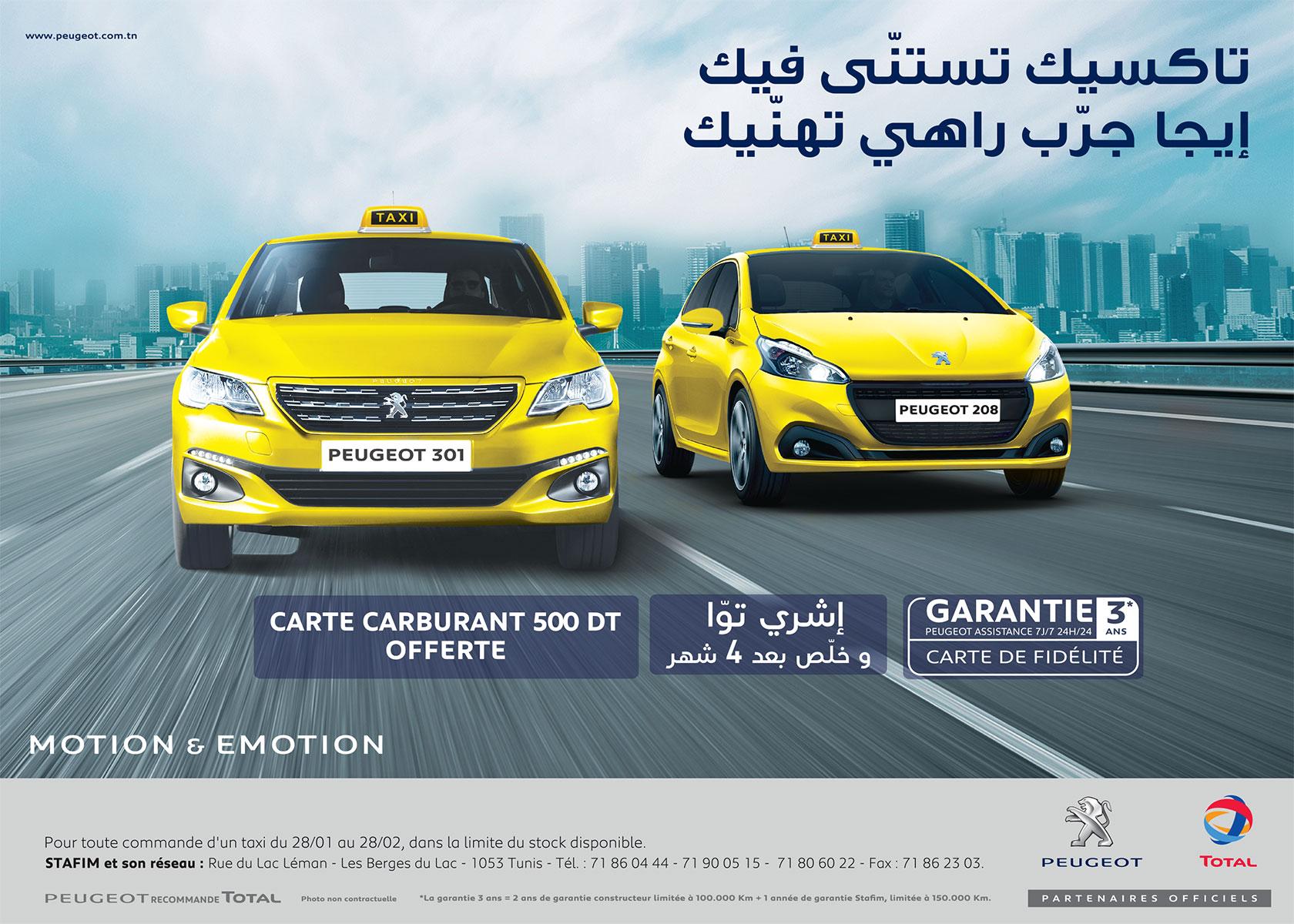 Taxi Roadshow Chez Peugeot