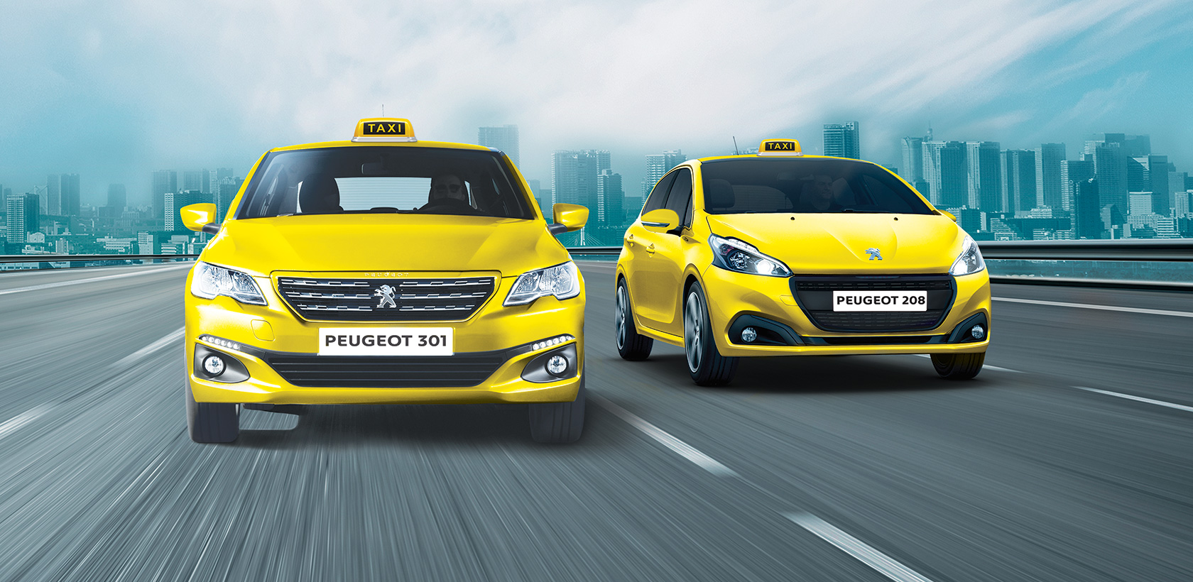 Taxi Roadshow chez Peugeot Tunisie