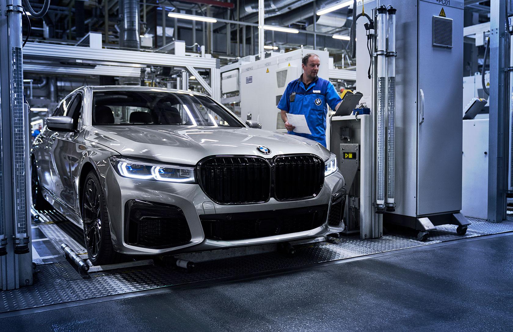 BMW débute la production de la nouvelle Série 7