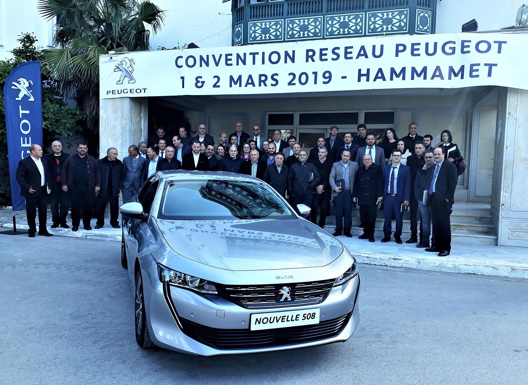 Convention Réseau Peugeot