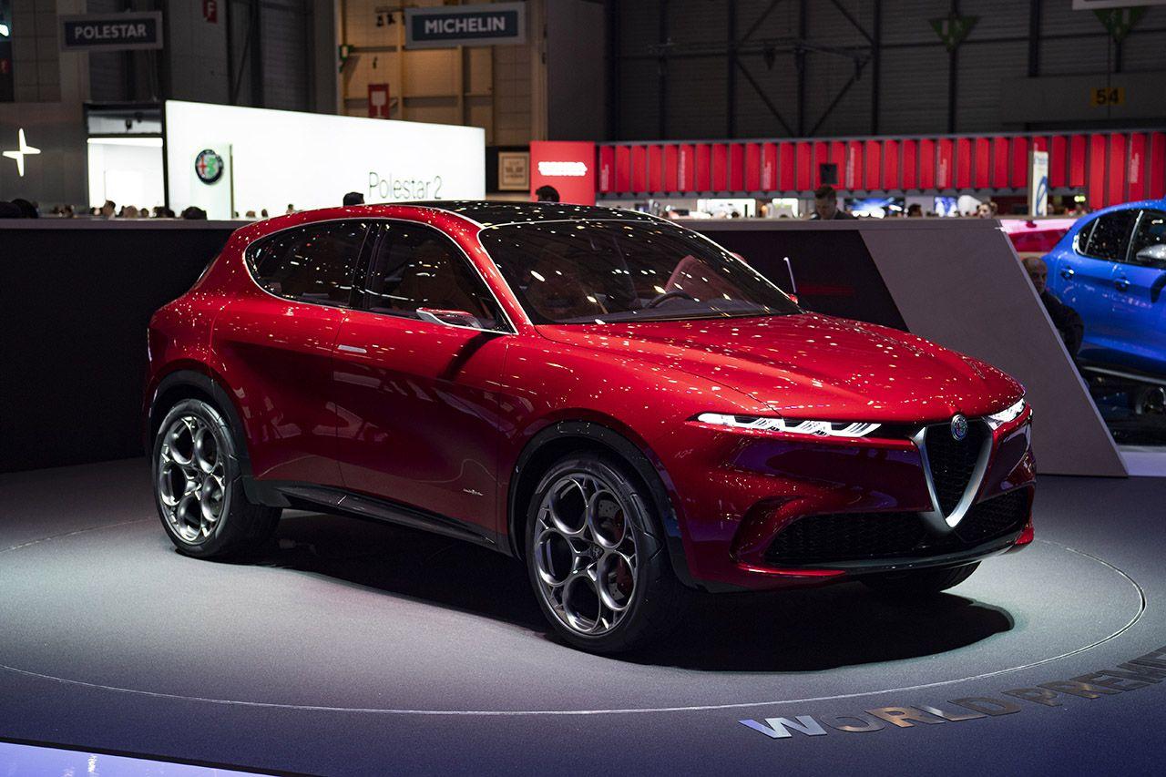 Nouveau concept Alfa Romeo Tonale
