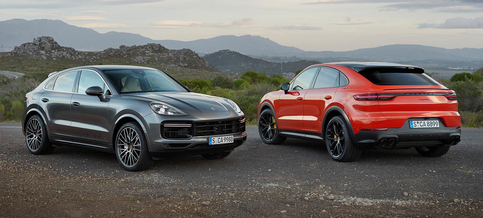 Porsche présente le Cayenne Coupé