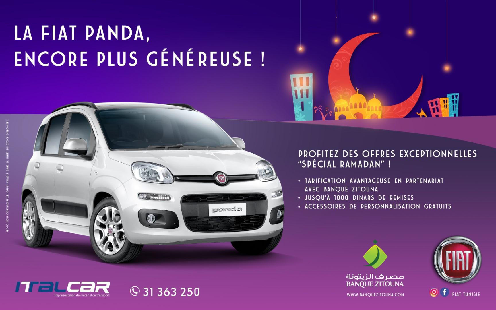 Offre spéciale sur la Fiat Panda chez Italcar