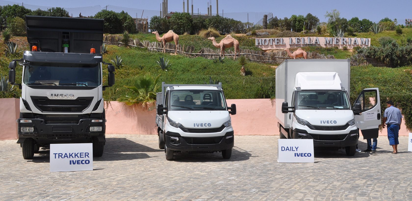Journée Porte ouverte IVECO à Zarzis